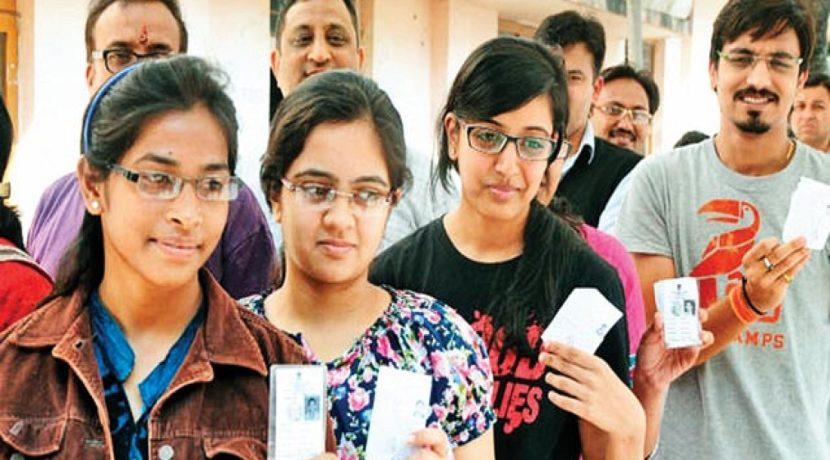 Delhi student's unique initiative to spread awareness about voting rights